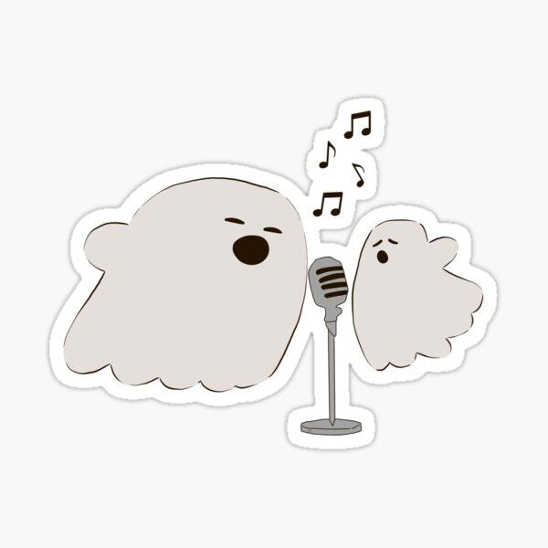Ghost Duet  Sticker