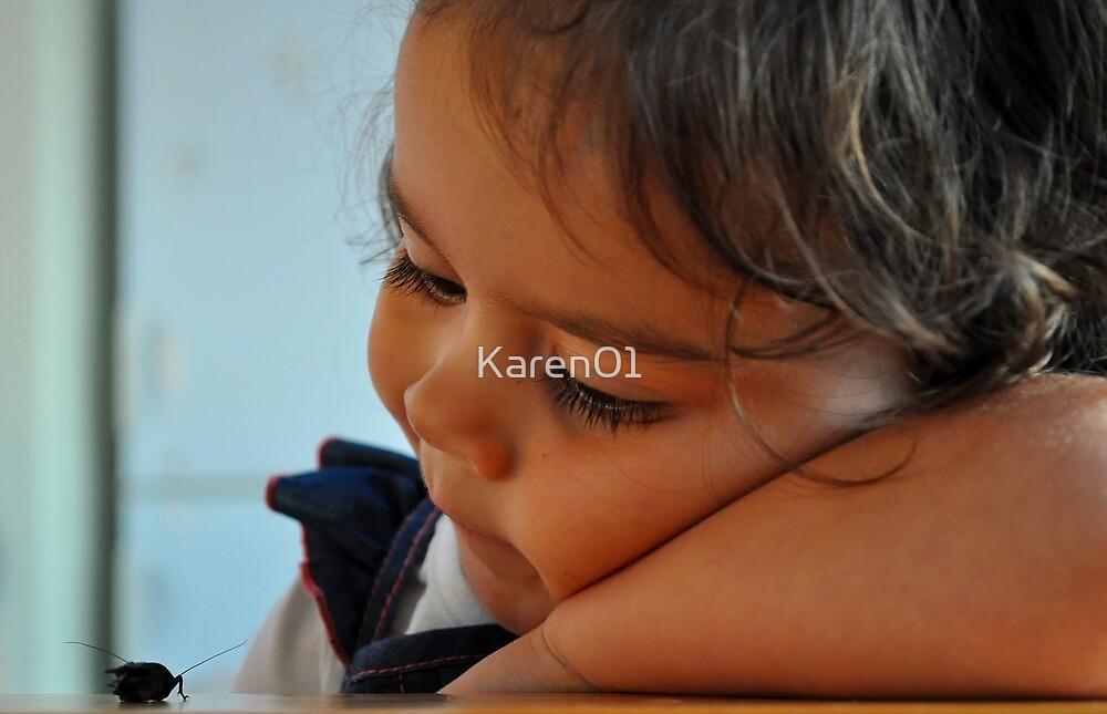 Contemplating Cricket by Karen01