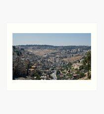 Israeli Vally Art Print