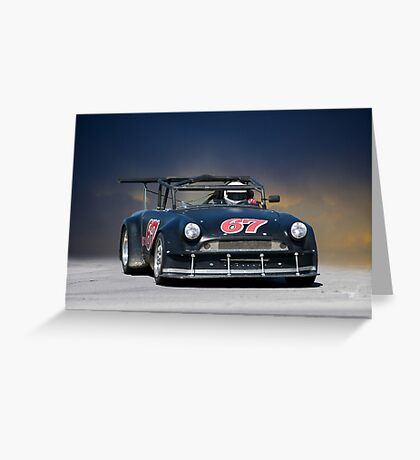 SCCA MG GT2 Greeting Card