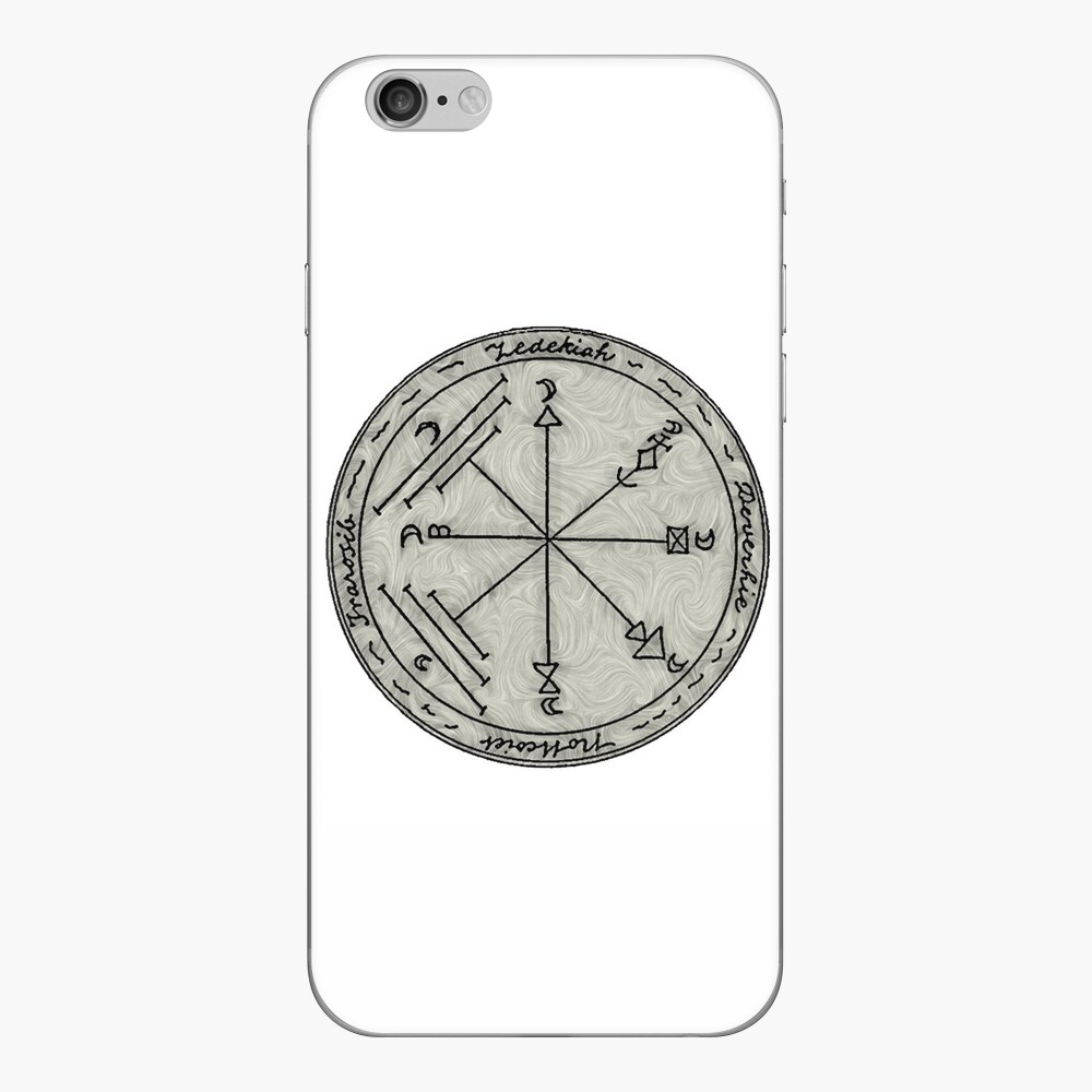 A Pentacle for Travelling by Sea and Land iPhone Skin