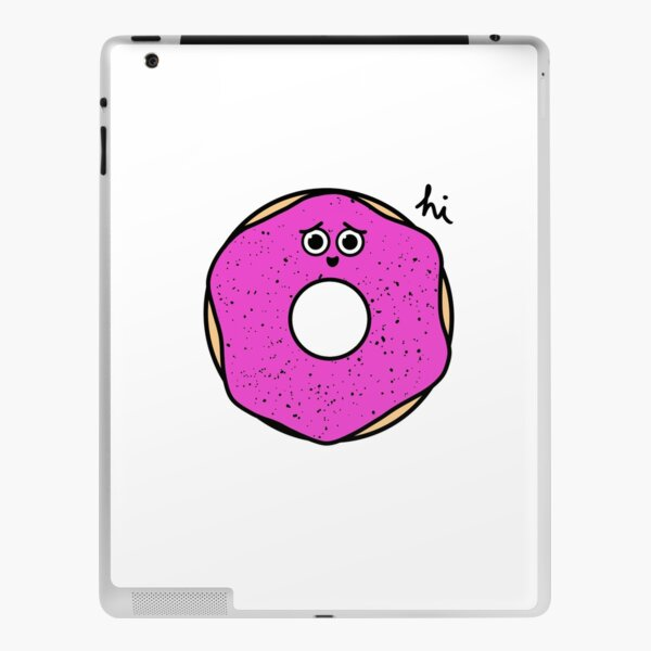 Anxious Donut iPad Skin