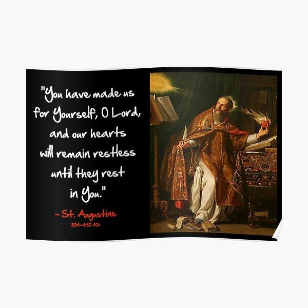 Augustine - Restless Heart Poster