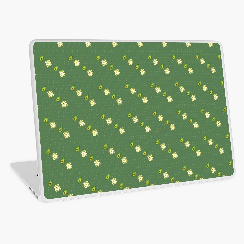 Kawaii Avocados Sticker Pack Laptop Skin