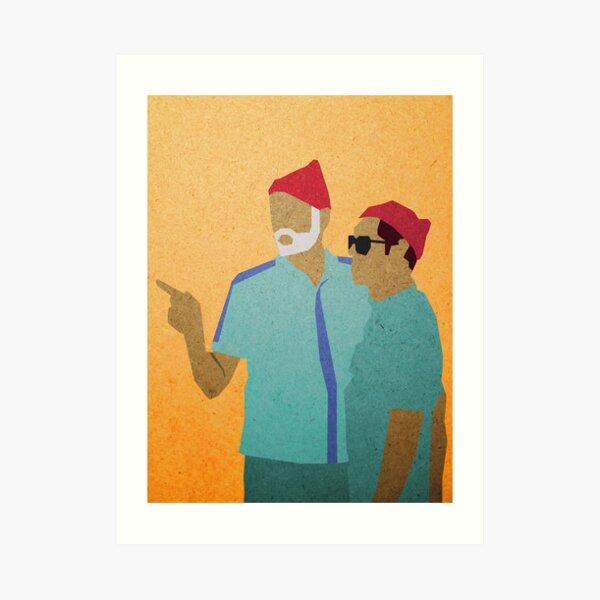 Zissou + Klaus Art Print
