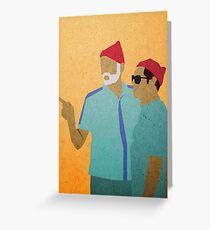 Zissou + Klaus Greeting Card