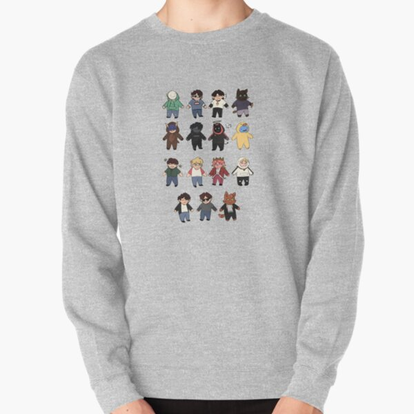 Minecraft streamer buddies Pullover Sweatshirt