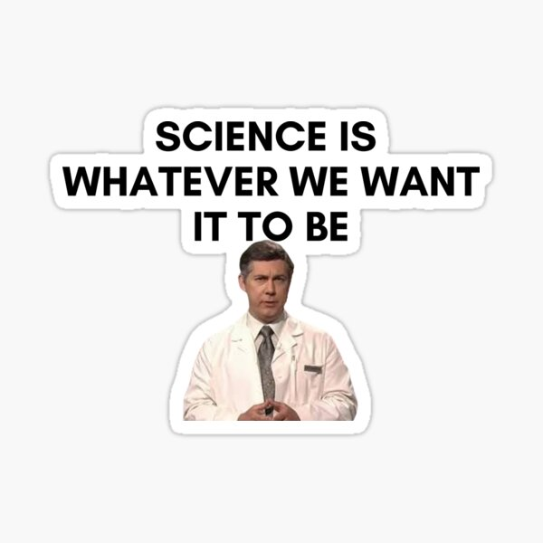 30 Rock - Dr Leo Spaceman - Science is whatever we want it to be Sticker
