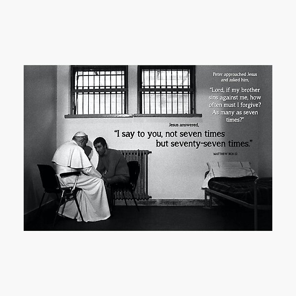 JP2 Forgiveness Photographic Print