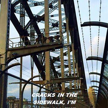 """Cracks in the sidewalk"" by thetaylahe"