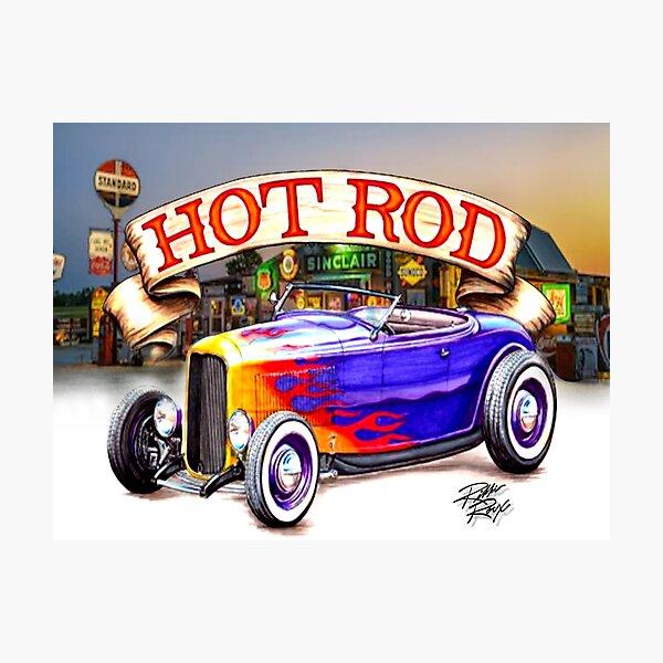 American Hot Rod Photographic Print
