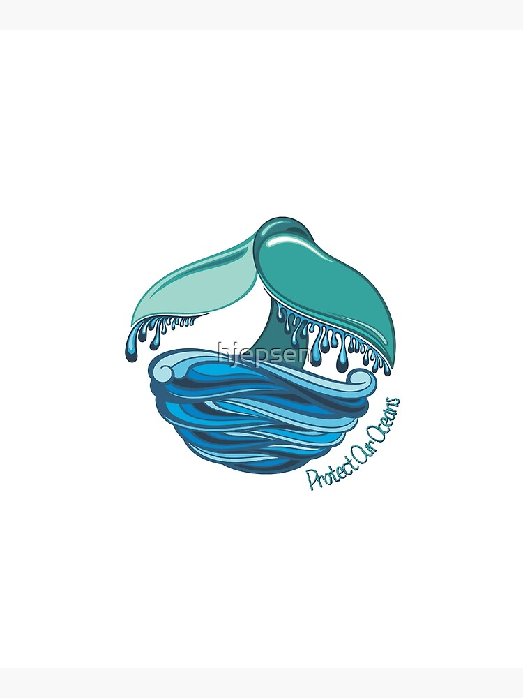 Protect Our Oceans Whale Tail by hjepsen