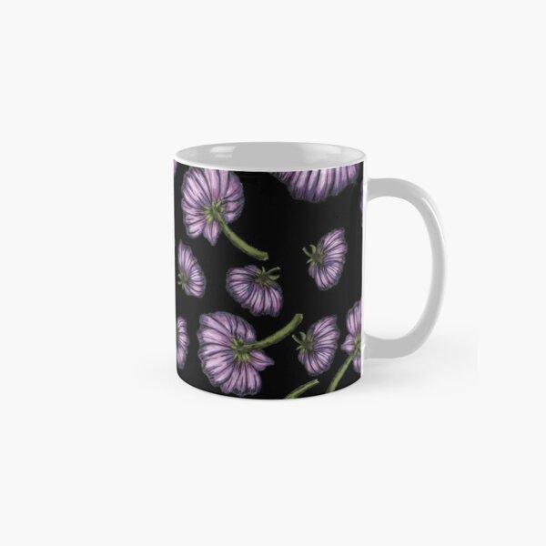 Purple flower rain Classic Mug