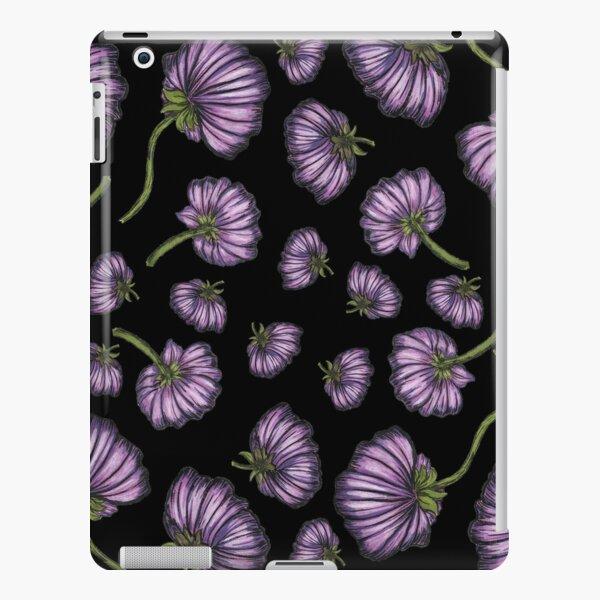 Purple flower rain iPad Snap Case