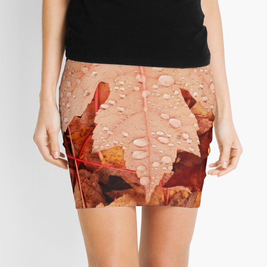 Enchanting  Autumn arriving soon  by Yannis Lobaina Mini Skirt