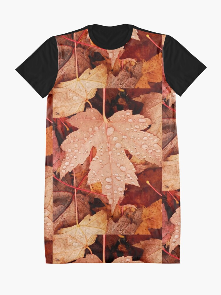 Alternate view of Enchanting  Autumn arriving soon  by Yannis Lobaina Graphic T-Shirt Dress