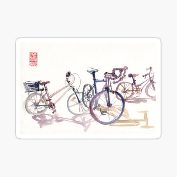 Happy cycles Sticker