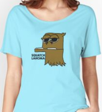 SQUATCHLAHOMA Women's Relaxed Fit T-Shirt