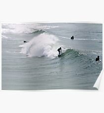 Surfs up dude! Poster