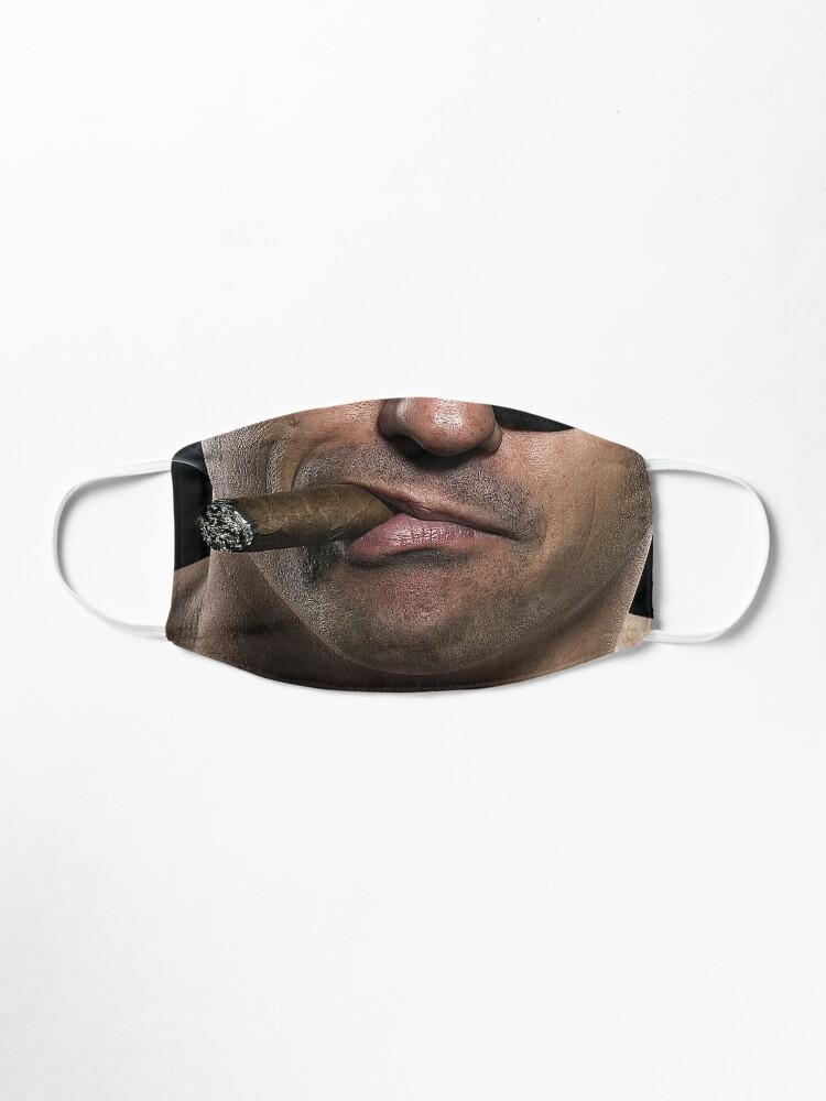 Alternate view of Be a man, smoke a cigar Mask