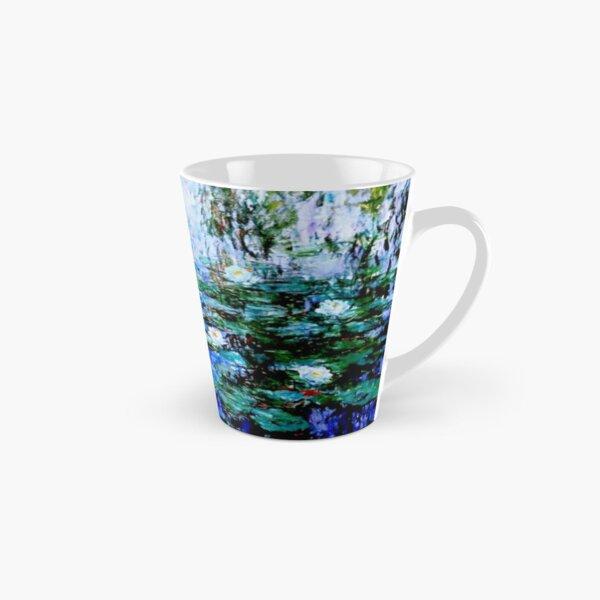 """""""Nymphéas Bleus"""" by Claude Monet - 'Blue Water Lilies'  Tall Mug"""