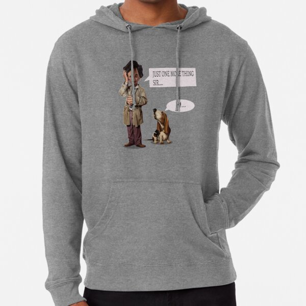 INSPECTOR COLUMBO, B SERIE, SOAP OPERA, POLICE, 2020, just one more thing sir, fan columbo serie, cheaper  tee shirt, cheap, Christmas Gift, Christmas Present, cadeaux de Noel, Christmas Time Sweat à capuche léger