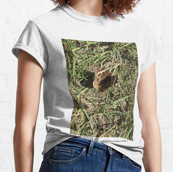 Butterfly in Grass Classic T-Shirt