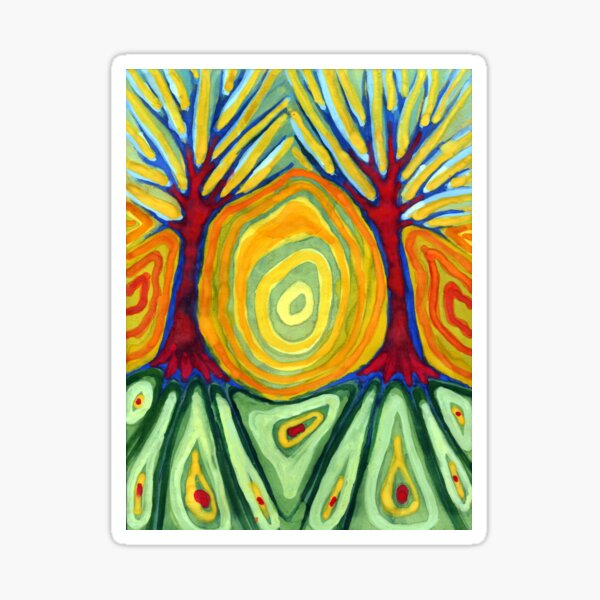 Labyrinth Sticker