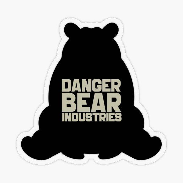 Danger Bear Industries  Transparent Sticker
