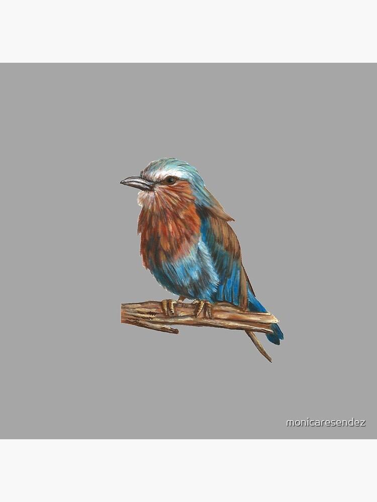 Blue bird by monicaresendez