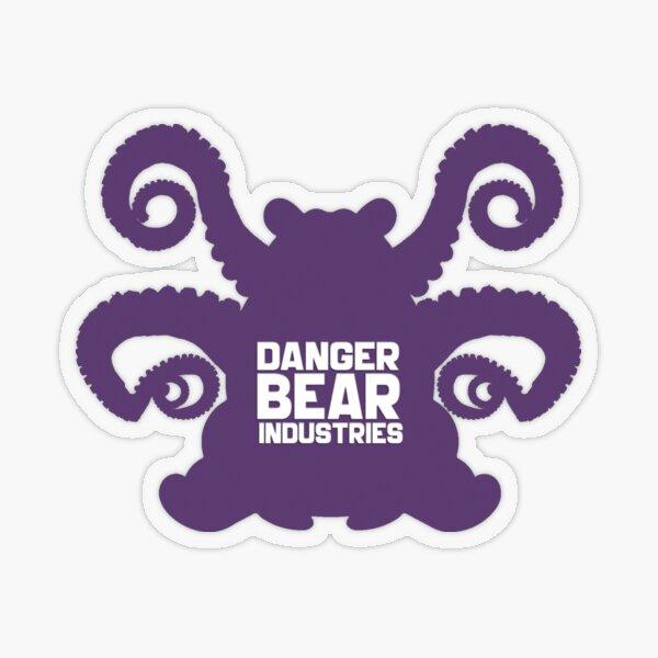 Eldritch Bear from Danger Bear Industries Transparent Sticker