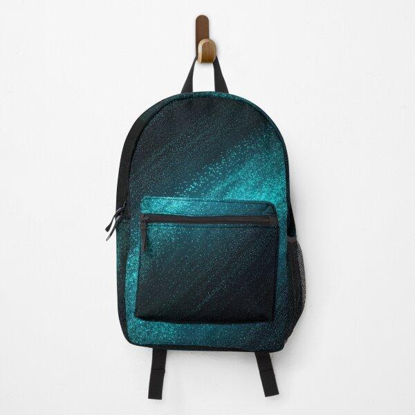 Cosmic Bridges #3 - Stardust - Black, Teal & Blue Backpack