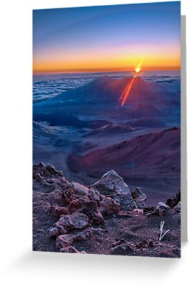 Haleakala Sunrise by mikewheels