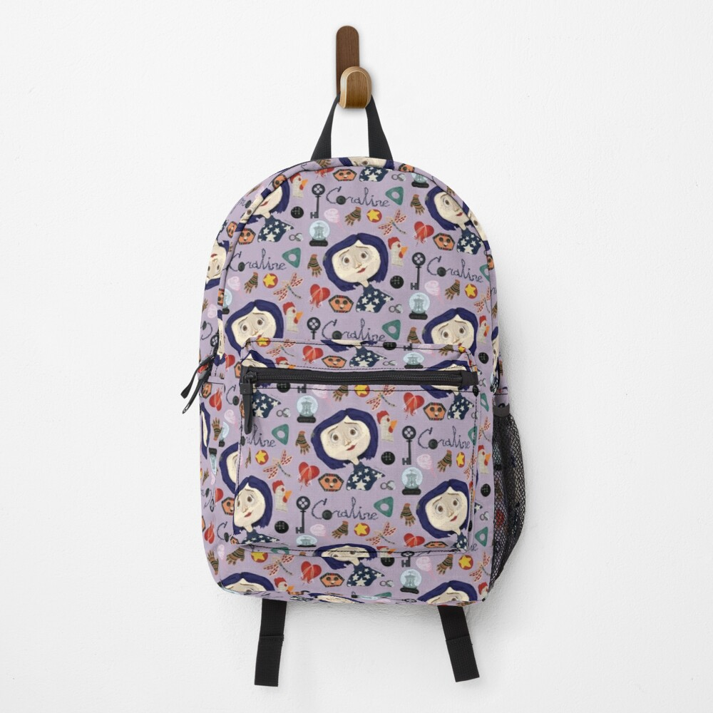 At the Pink Palace Apartments Pattern Backpack