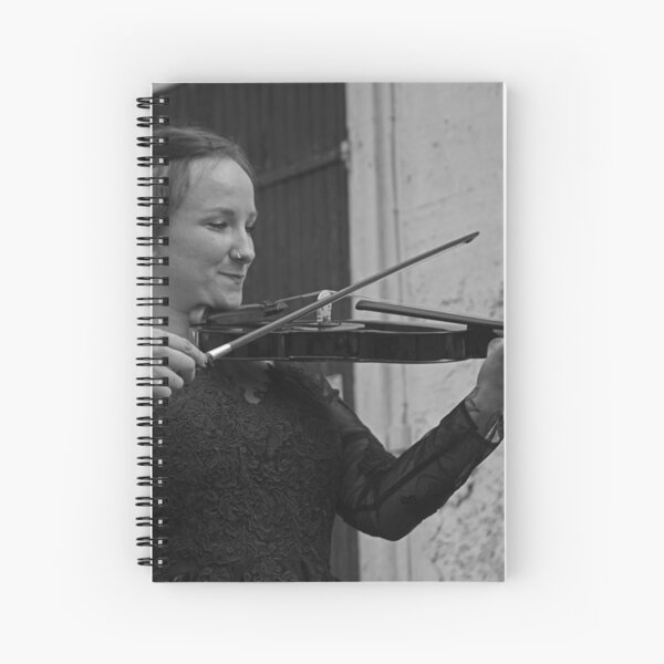 Violinista Spiral Notebook
