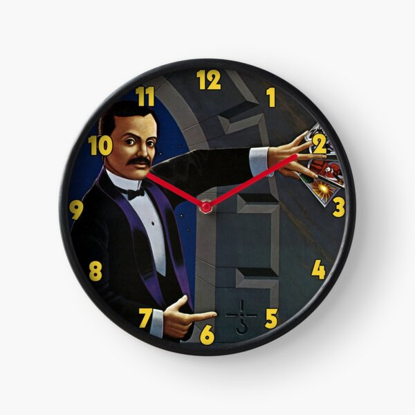 Blue Oyster Cult: Agents Of Fortune Clock