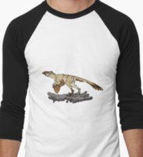 Utahraptor Men's Baseball ¾ T-Shirt