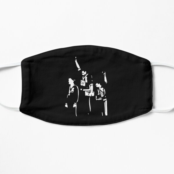 1968 Olympics Black Power Salute Mask
