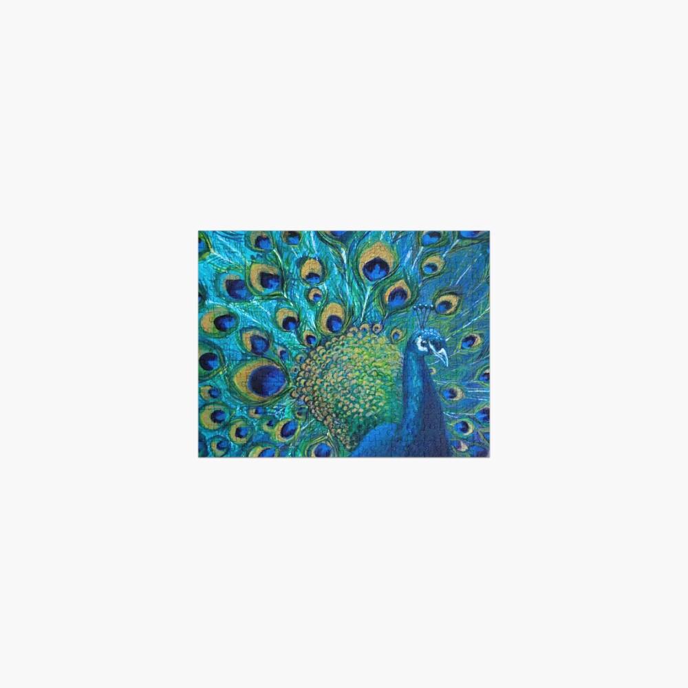 Full Glory Peacock Jigsaw Puzzle