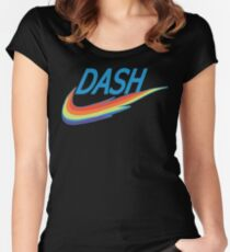 My little Pony Rainbow Dash parody Women's Fitted Scoop T-Shirt