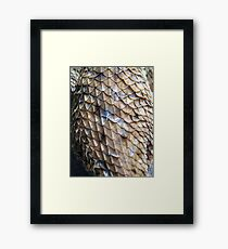 ©NS Reptile Pattern IA Framed Print