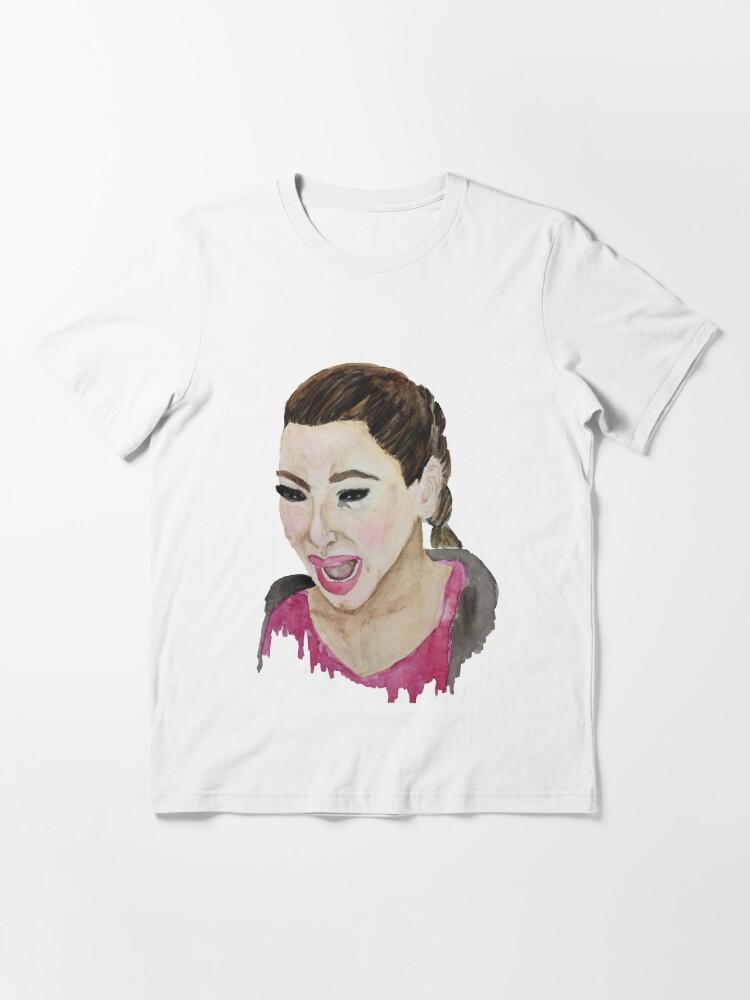 Alternate view of Kim Kardashian Crying Essential T-Shirt