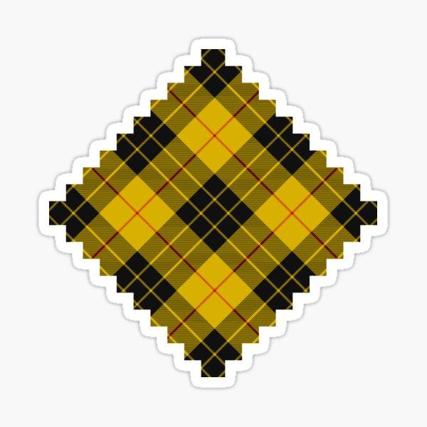 Clan MacLeod of Lewis Tartan Rotated Sticker