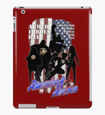 Armed Forces Day - American Heroes iPad Case/Skin