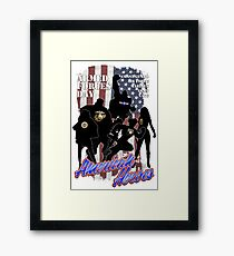 Armed Forces Day - American Heroes Framed Print