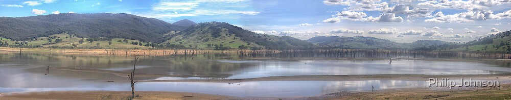 Lake Hume Recollections - Lake Hume NSW/Victoria by Philip Johnson