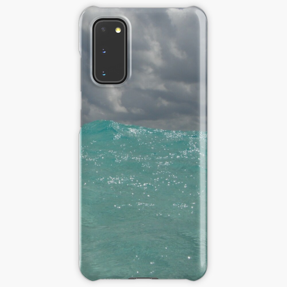 Crystal Clear Blue Caribbean Waters Case & Skin for Samsung Galaxy