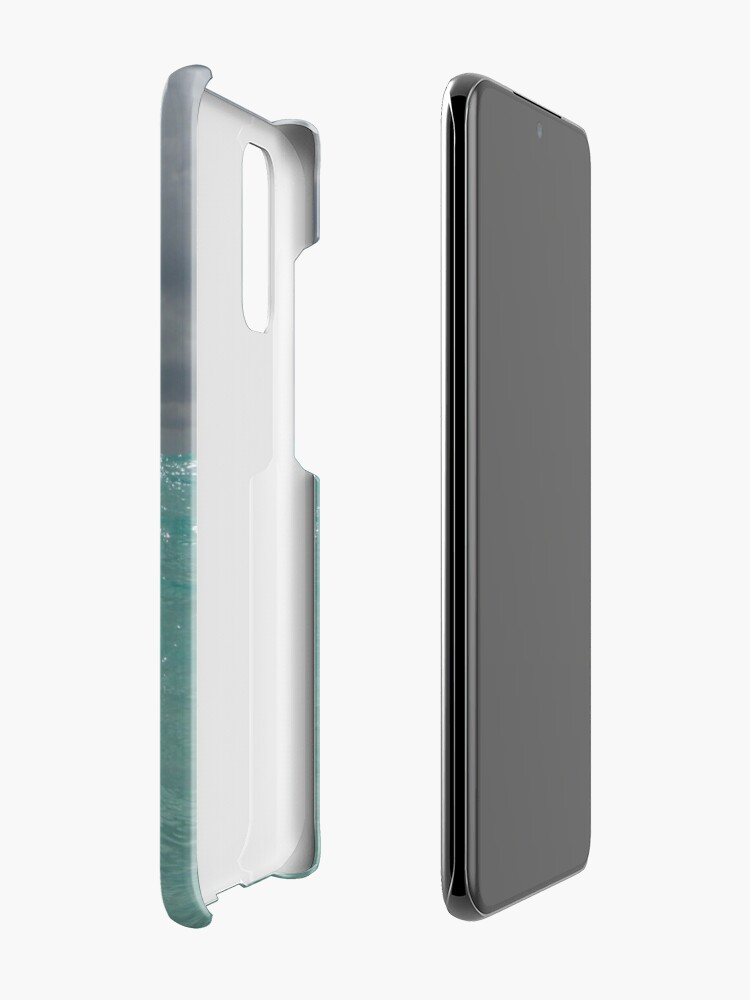 Alternate view of Crystal Clear Blue Caribbean Waters Case & Skin for Samsung Galaxy