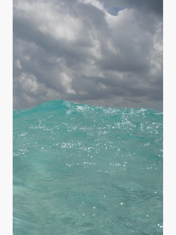 Crystal Clear Blue Caribbean Waters by hjepsen