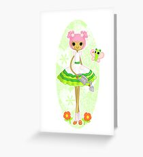 Blossom Flowerpot Greeting Card
